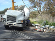 Photo of truck accident